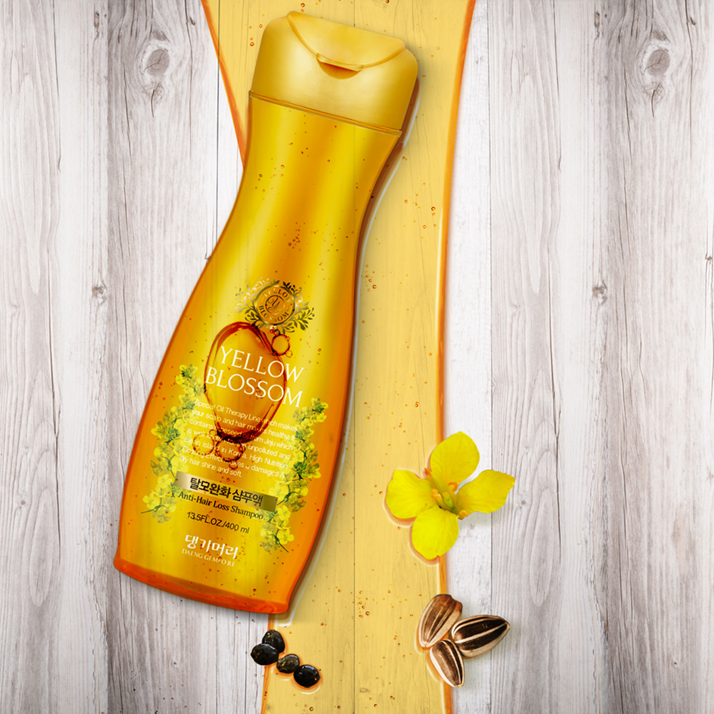 Yellow Blossom Anti-Hair Loss Sulfate Free Shampoo