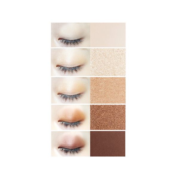 Eye:Tem Shadow Palette (#02 Brown Mode)