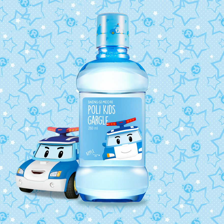 Poli Kids Mouthwash (Apple)