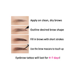 La Petite Kurious EyeBrow Tattoo
