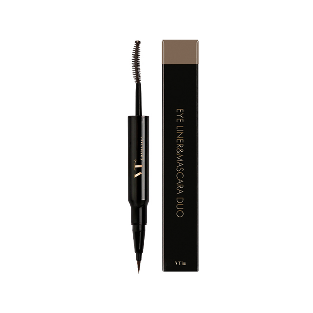 Eye Liner & Mascara Duo (#02 Brown)