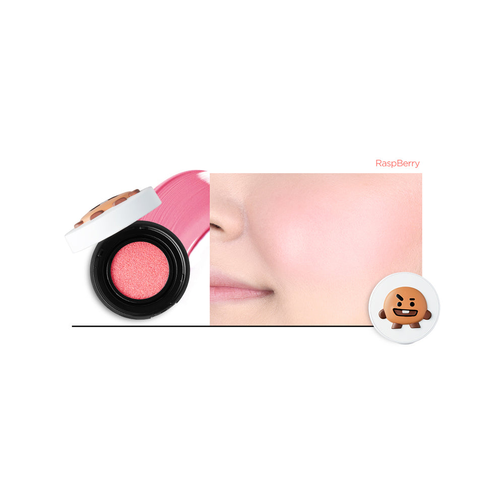 VTXBT21 Cheek Cushion (#01 Raspberry)