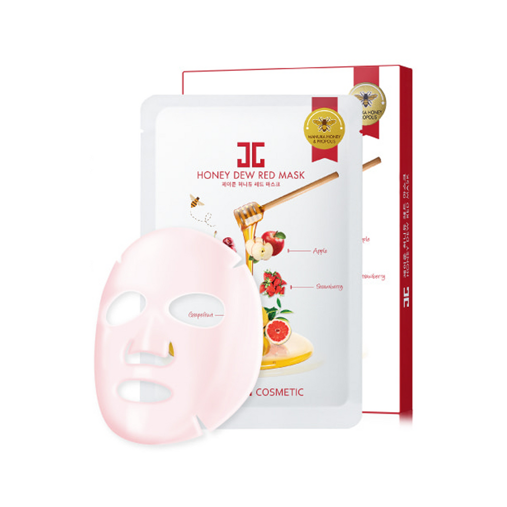 Honey Dew Red Mask