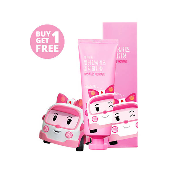 Amber Kids Toothpaste (Strawberry)<br><b>Buy 1 Get 1 FREE</b></br>