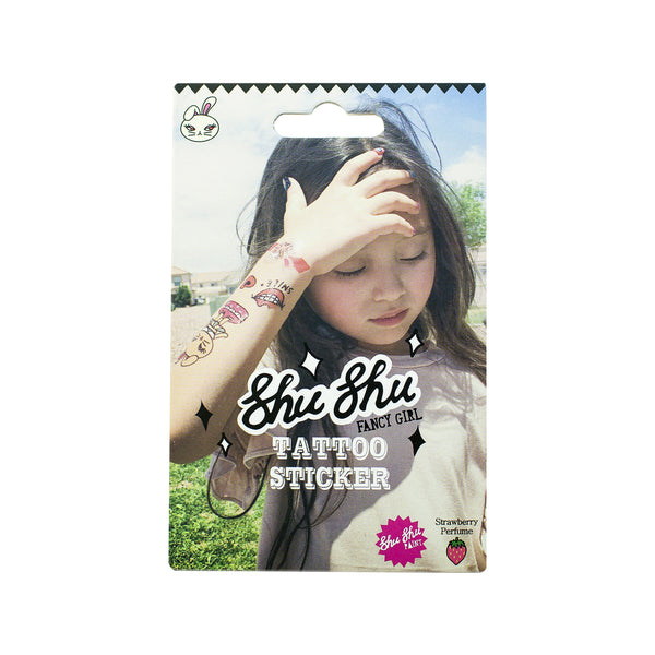 Shushu Kids Temporary Tattoos Sticker