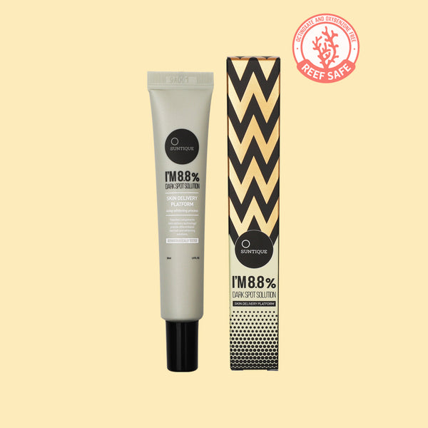 I'M 8.8% Dark Spot Solution<br><small><b>Buy 2 Suntique + Get 1 Hair Wax FREE</small></b>