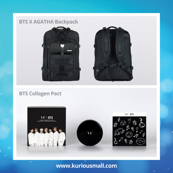 BTS Combo Pack (Collagen Pact + Backpack)