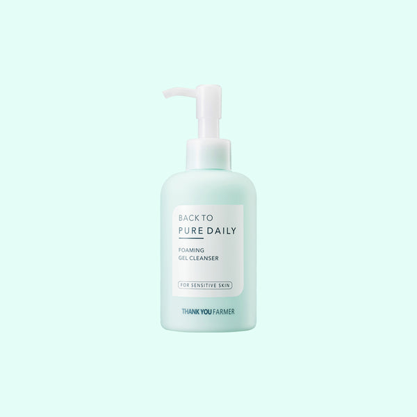 Back to Pure <br>Daily Foaming Gel Cleanser<br>