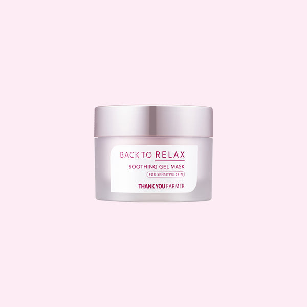 Back to Relax<br>Soothing Gel Mask
