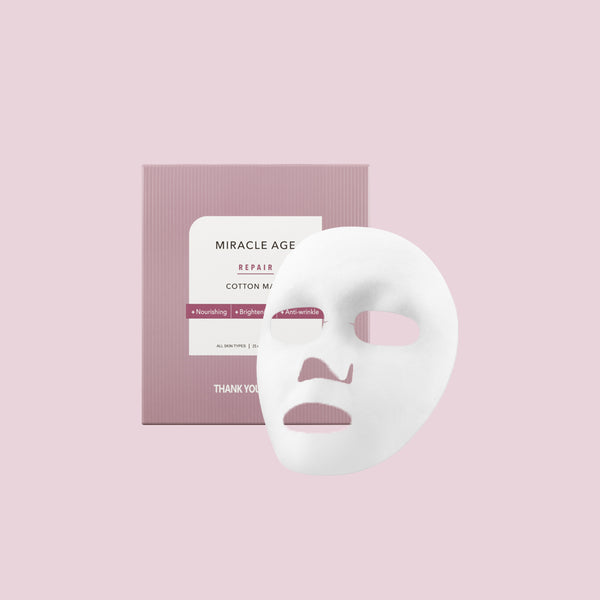 Miracle Age Repair Cotton Mask (5 Sheets)