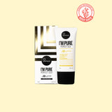 I'M PURE Cica Suncream SPF50+ PA+++ <br><small><b>Buy 2 Suntique + Get 1 Hair Wax FREE</small></b>