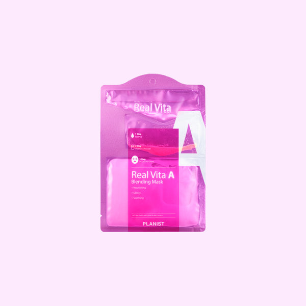 3 Step Real Vita Blending Mask (10 Sheets)