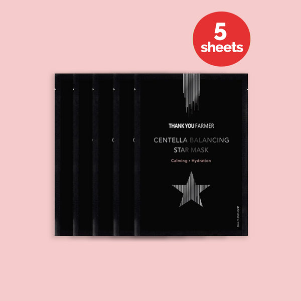 Centella Balancing Star Mask (5 Sheets)