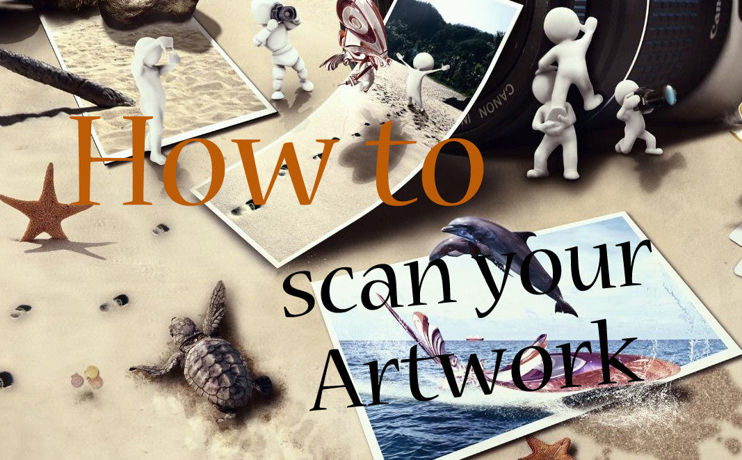 How To: Scan Your Artwork