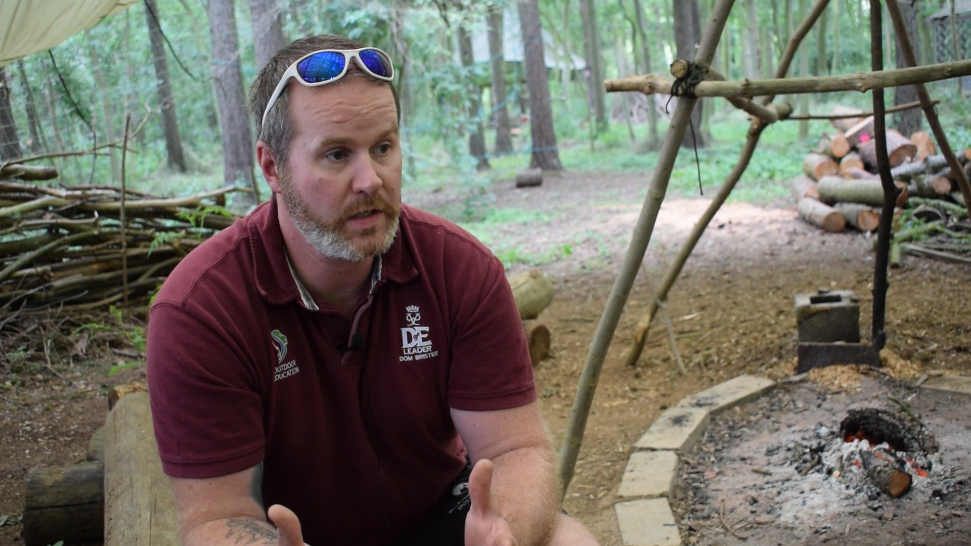 Bushcraft And Beyond's Dom Brister Interview