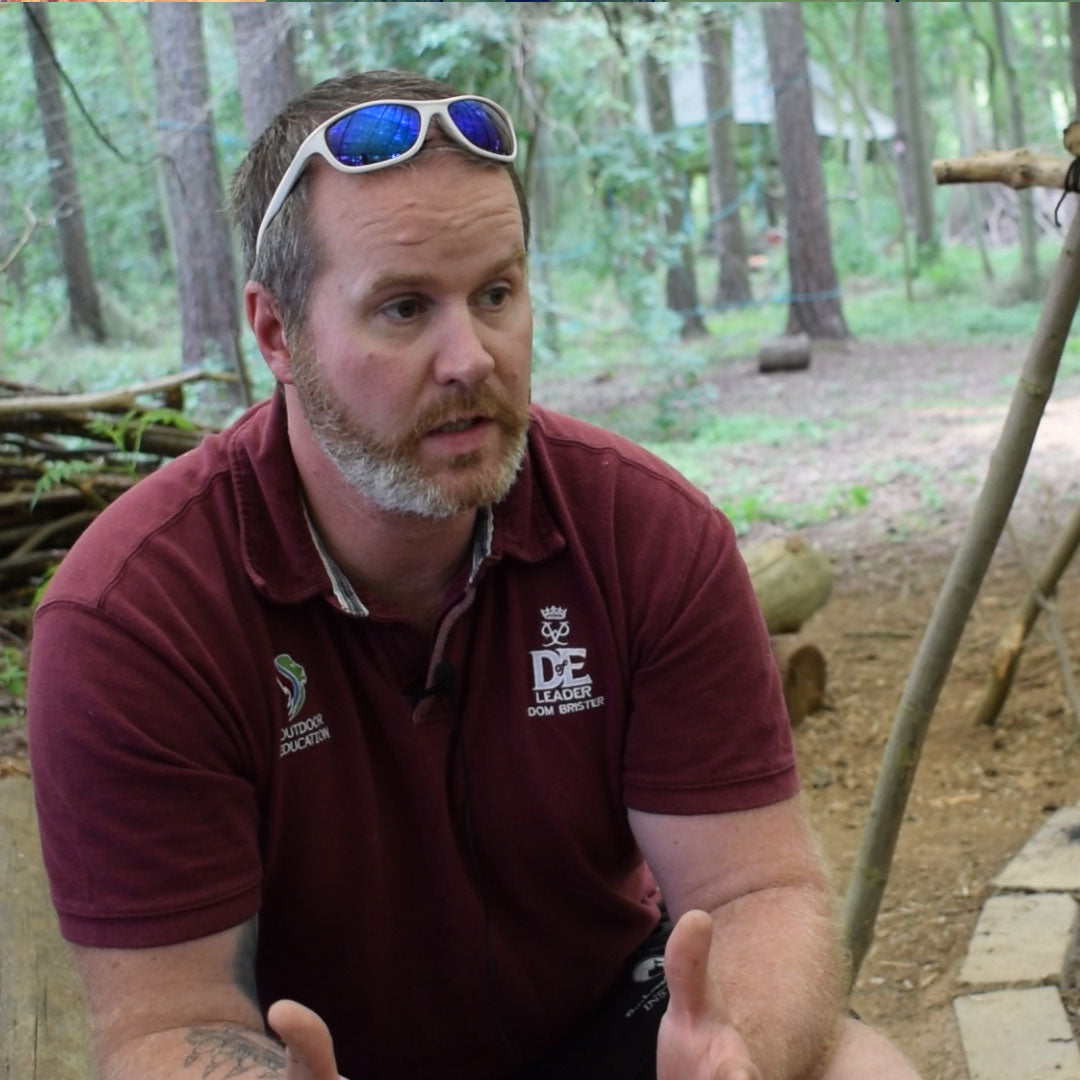 Dom Brister From Bushcraft and Beyond