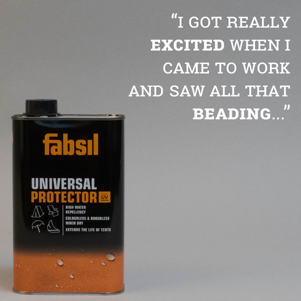 Fabsil Product Test