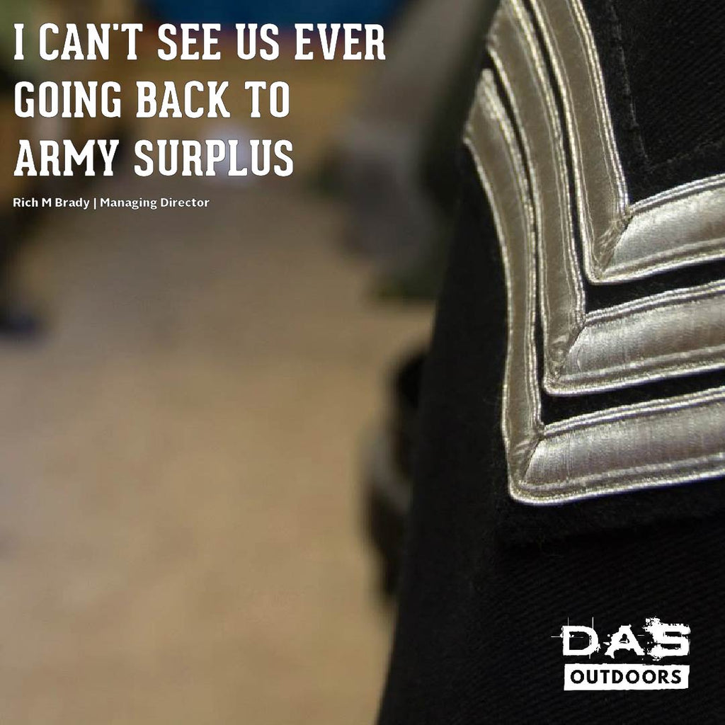 Where Has The All The Army Surplus Gone?