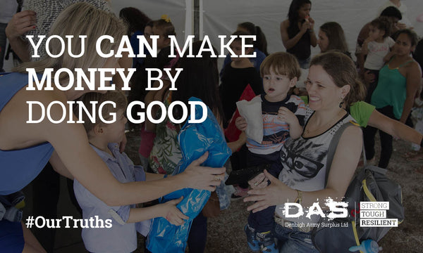 You can make money by doing good
