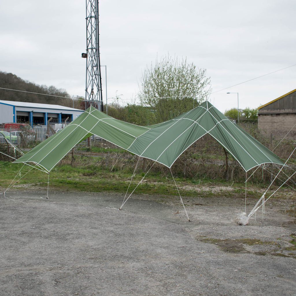 Big Top Shelters : Big top parachute shelter das outdoors