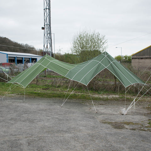 Golygfa | A Parachute Shelter With Windows