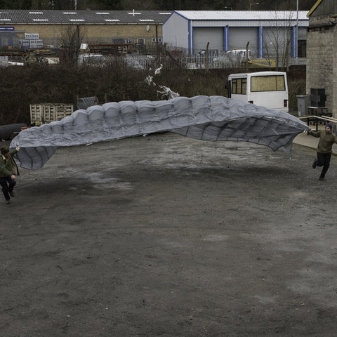 Cross Shaped Parachute