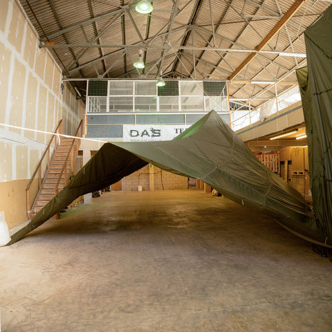 Parachute Shelter Repair Assessment