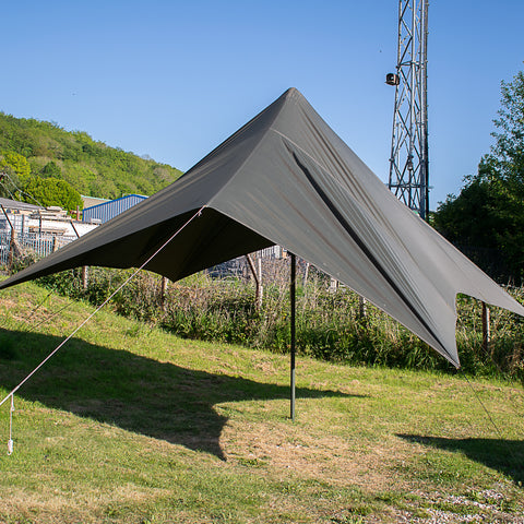 Big Tarp with Poles
