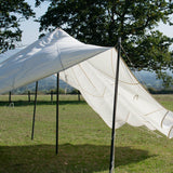 White Parachute Canopy