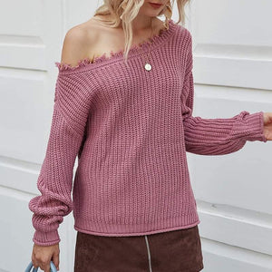 Mauve Audrey Sweater