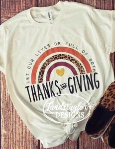 Thanks + Giving Tee - Adult