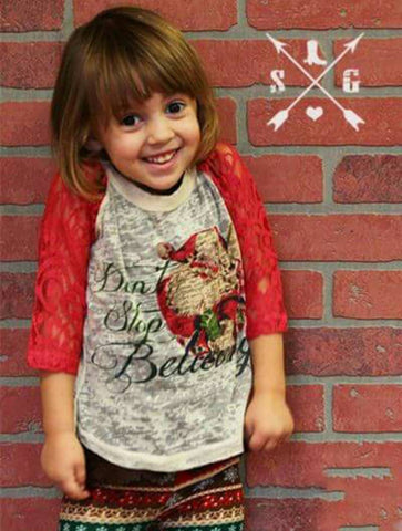 Southern Grace Girls' Christmas Shirts