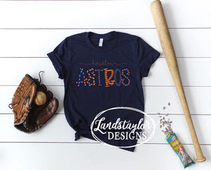 Houston Astros Navy Tee