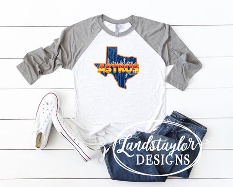 Houston Astros Raglan