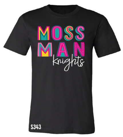 Mossman Knights Colorful Spirit Tee