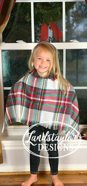 Toddler Girl's Ponchos