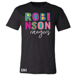Robinson Rangers Colorful Spirit Tee