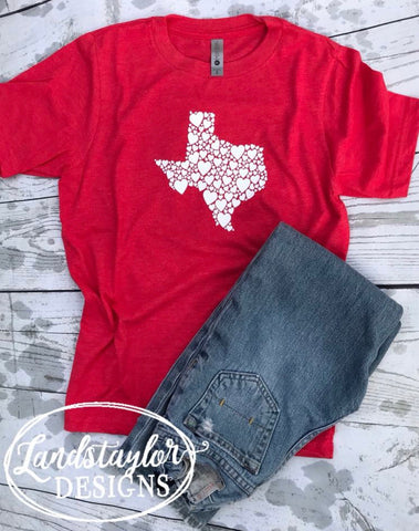 Texas Heart Tee - Youth