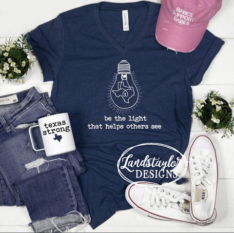 Be The Light - Fundraising Tee