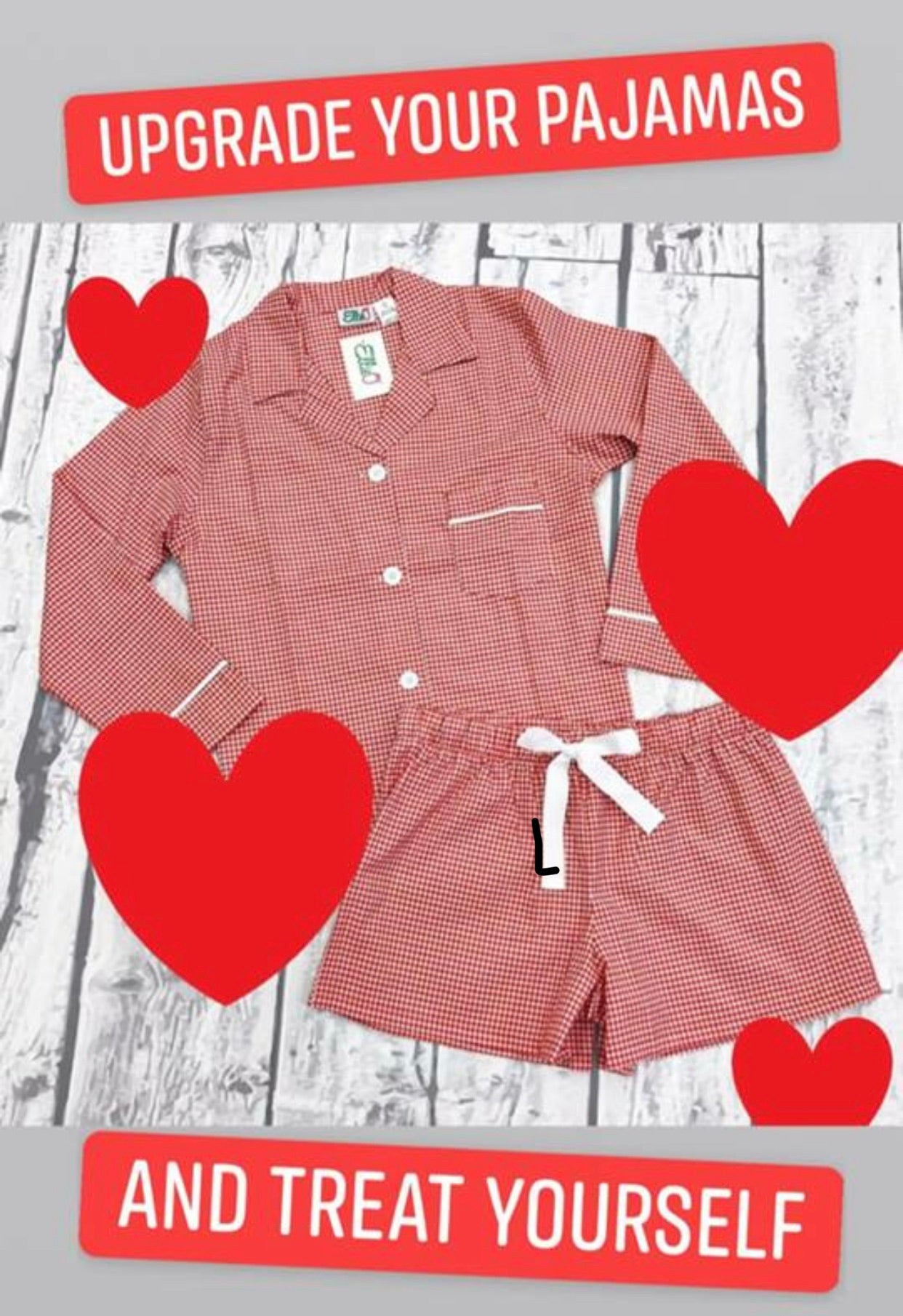 Two Piece Gingham Short Set