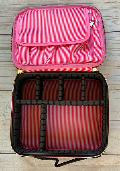 Zippered Cosmetic Cases