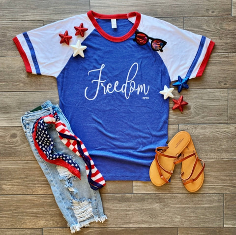 Freedom Short Sleeved Raglan