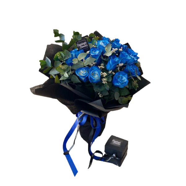 Blue Rose Night