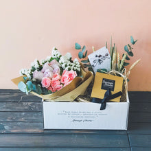 Flowers mail (peach)