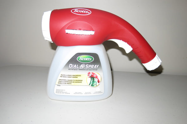 Scotts Dial N Spray Hose-End Sprayer