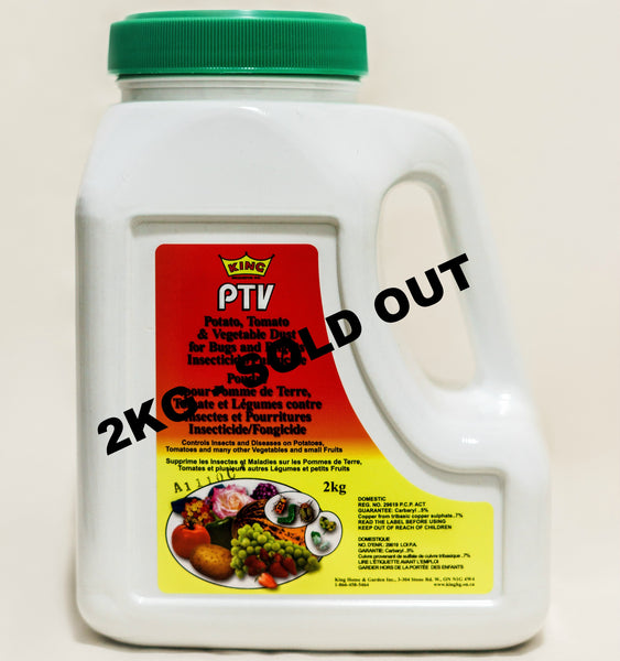 King 2kg Ptv 5 Carbaryl Lawn Products