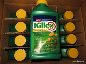 Killex 1L Concentrate Half Case - 6 Concentrate Bottles Selective Weed Killer