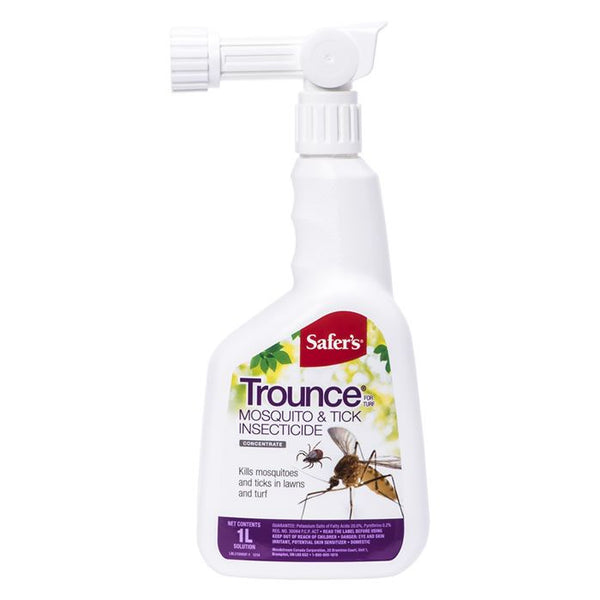 Trounce Mosquito and Tick Insecticide - 1L Attach & Spray Concentrate