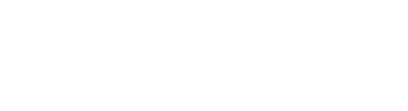 Promatica digital solutions white logo