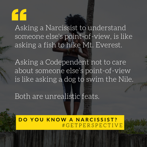 narcissist codependency relationships healing blog yoga positive